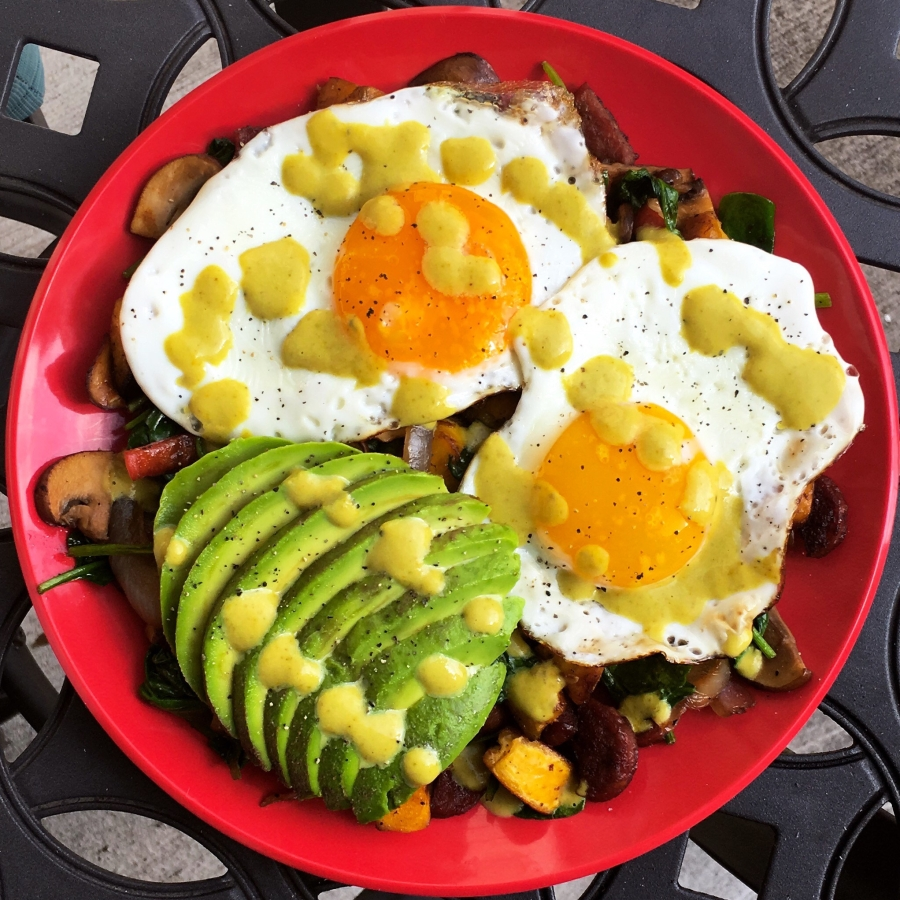 Plantain Breakfast Hash