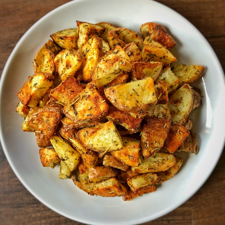Thyme and Rosemary Roasted Potatoes