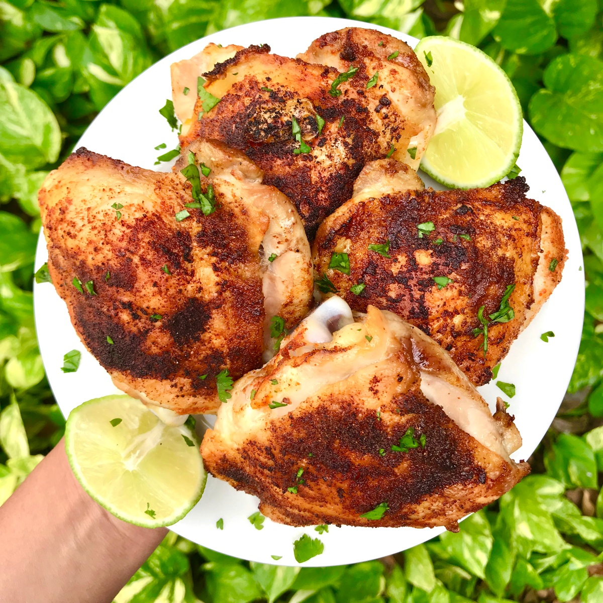 Paprika Lime Chicken Thighs