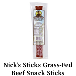 Nick's Sticks Grass-Fed Beef Snack Sticks Thumbnail